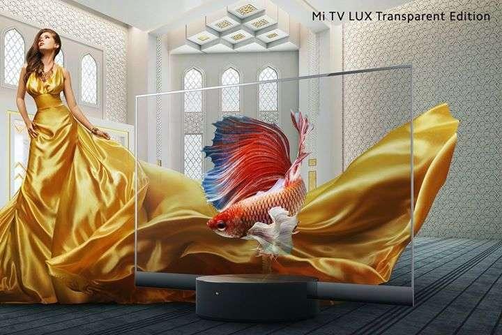 Xiaomi представила серійний прозорий телевізор: фото
