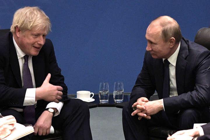 У Британії назвали умову для проведення саміту Джонсона і Путіна