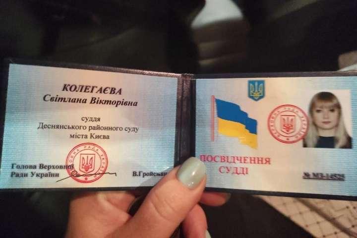 У Києві п'яна суддя влаштувала ДТП (фото, відео)
