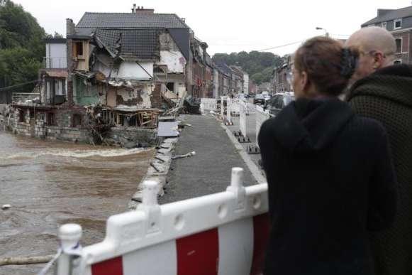 Повінь у Бельгії: понад 10 тисяч осіб лишилися без житла