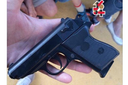У Харкові школяр влаштував стрілянину на дитячому майданчику (фото)