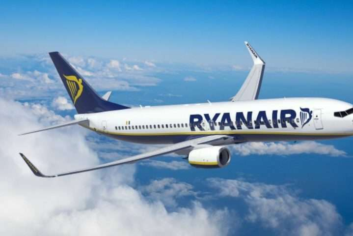 Ryanair відкриває три нові рейси з України
