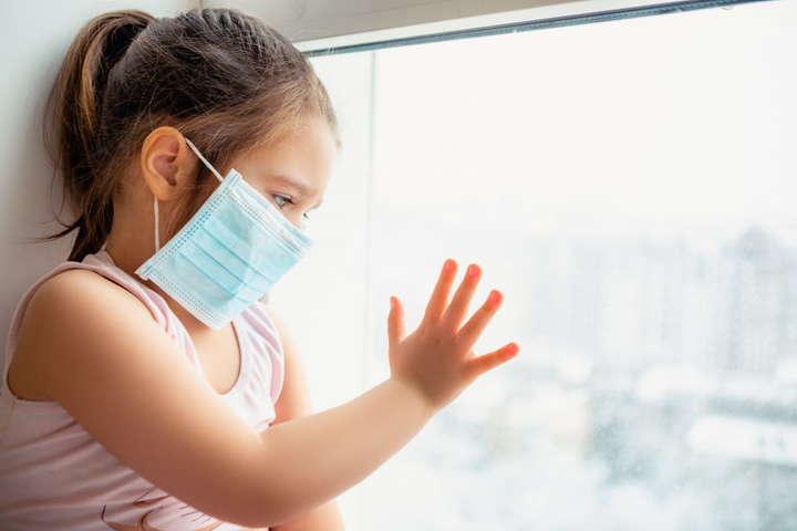 В Україні вперше за час пандемії частка хворих на Covid-19 дітей перевищила 10%
