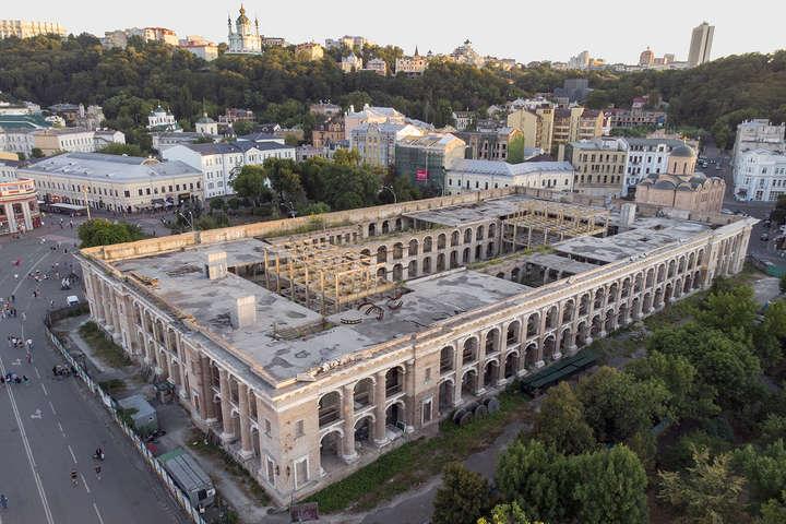 Ткаченко розповів, що буде у Гостиному дворі після реставрації